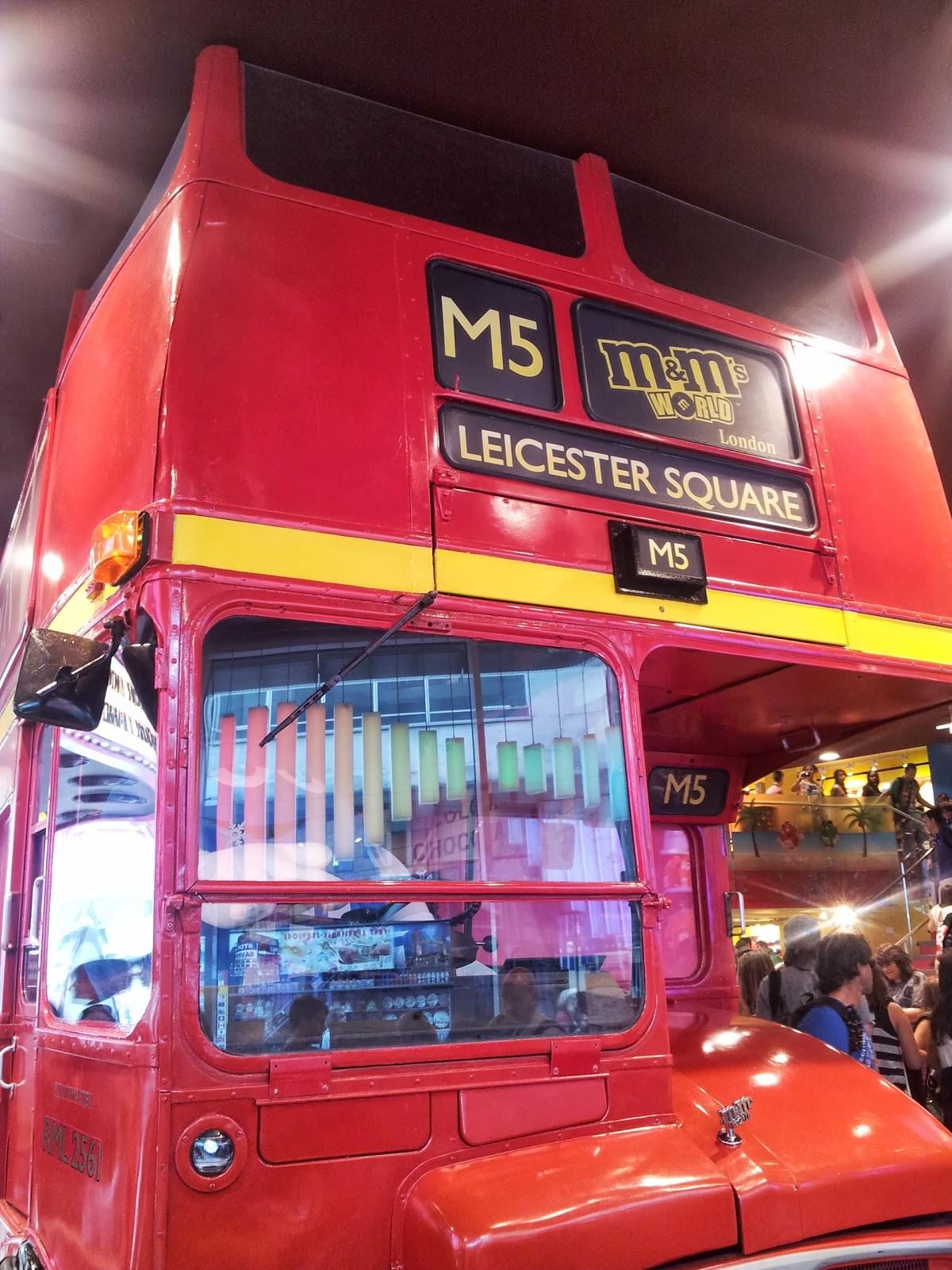 M & M World Store, London