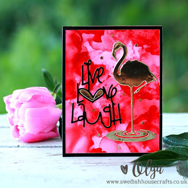 Flamingo Love   By Olga