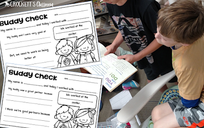How do you hold your kids accountable for their work and behavior during literacy centers?  Setting high expectations is not enough.  Find out how you can improve student accountability with these 5 ideas.