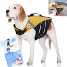 SeaDog Pro Dog Life Jacket (XS) with Clip-On Water Activated LED Safety Strobe - Quick Release Doggy Life Preserver - High Quality Adjustable Pet Life Vest. Tough Hi-Vis Nylon - Reflective Trim, Strong Grab Handle -Best Dog Flotation Vest on Amazon