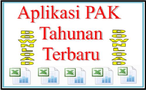 Aplikasi Penilaian Angka Kredit (PAK) Dalam Bentuk Format Microsoft Excel Terbaru