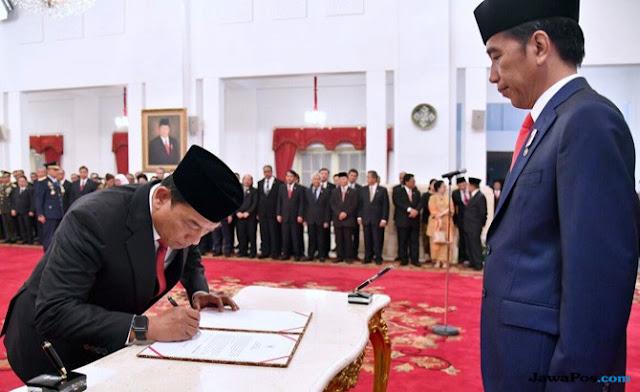 Moeldoko Tinggalkan Hanura Untuk Jadi Cawapres Jokowi