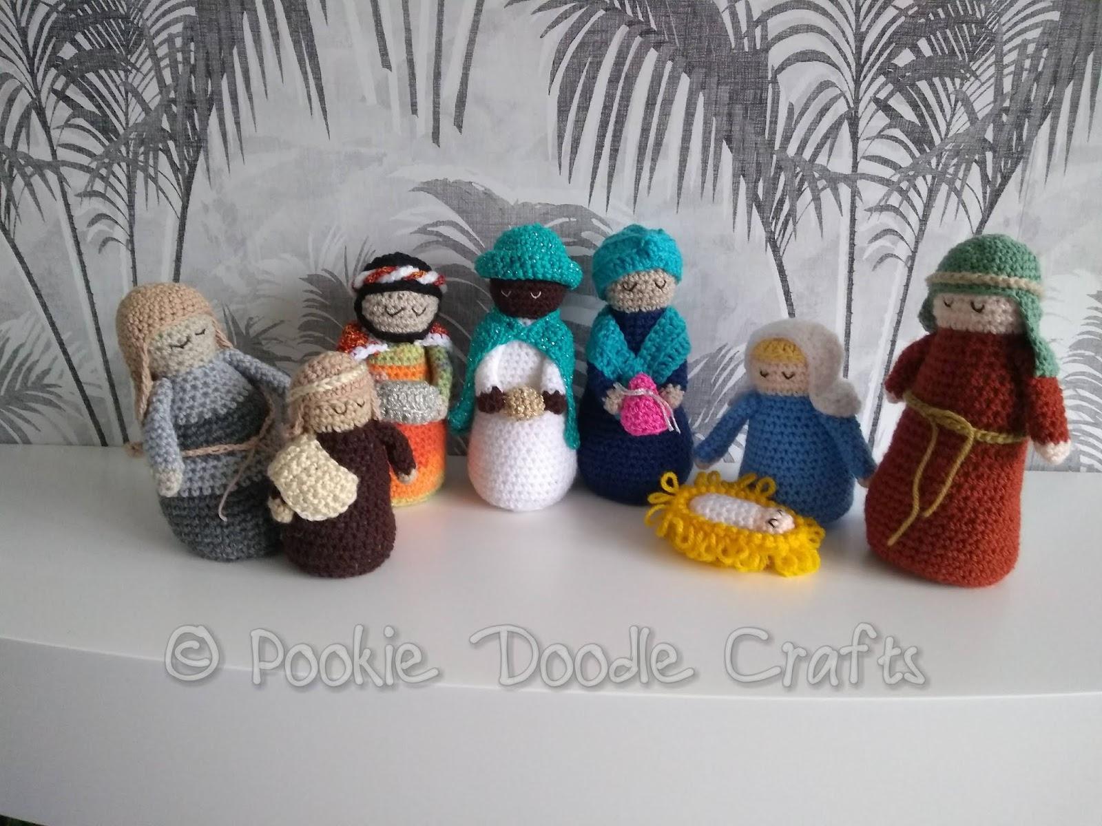 Crochet Nativity pattern on Newsstand – Cara Medus   1200x1600