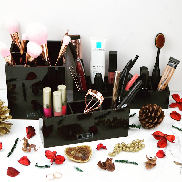 Lovelaughslipstick blog - Christmas Gift Ideas and Makeup Storage Goals from Beautify