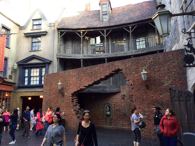 Diagon Alley Entrance at The Wizarding World of Harry Potter by freshfromthe.com