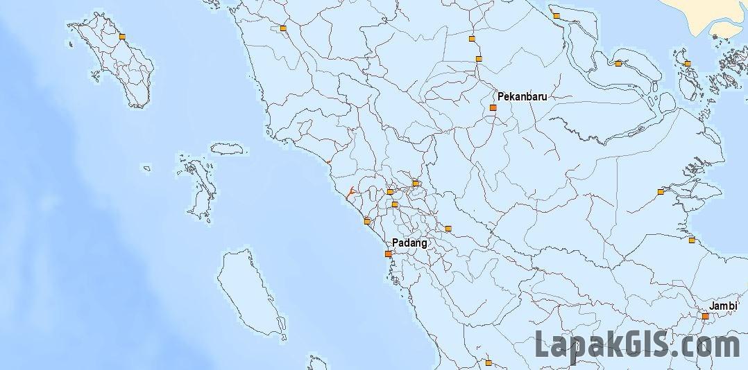 Paket Lengkap Peta Dasar Indonesia + MXD Format Shapefile