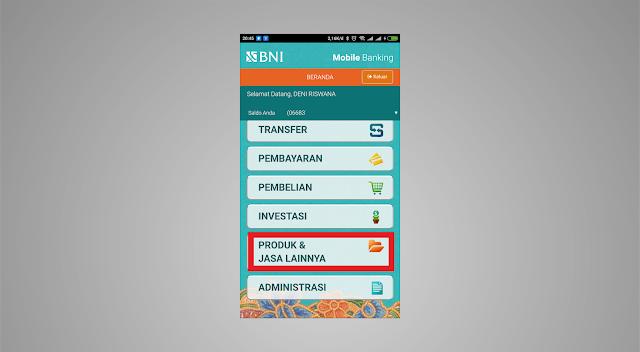 Cara Membuat VCN BNI Melalui Aplikasi BNI Mobile - Riswna.net