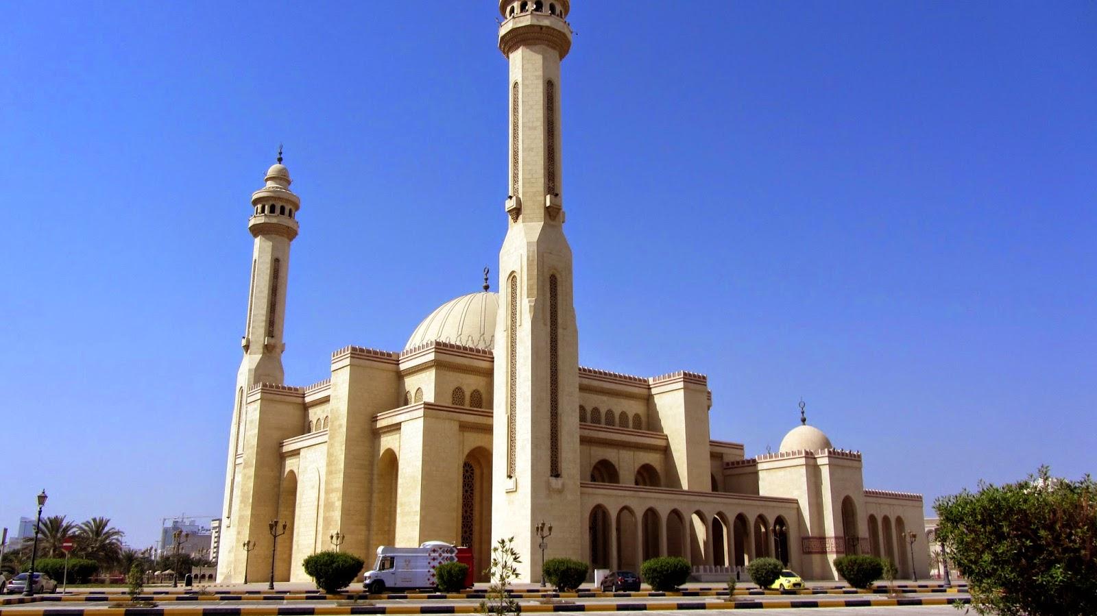 Al Fateh Grand Mosque Bahrain Pop Culture Middle East blog