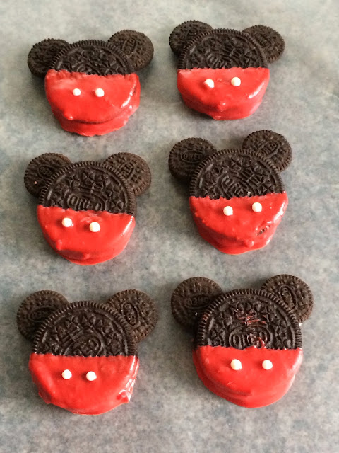 Mickey Mouse Cookies Oreo