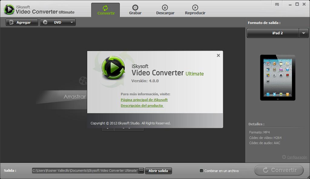 iSkysoft iMedia Converter Deluxe merupakan sebuah software yang berguna untuk mengubah sebuah format video ke format video lainnya dengan sangat mudah mirip dengan Wondershare Video Converter Ultimate.