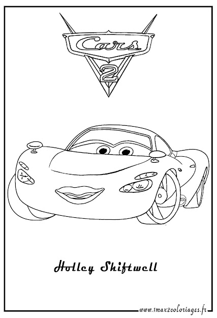 Cars And Cars  Coloring Pages