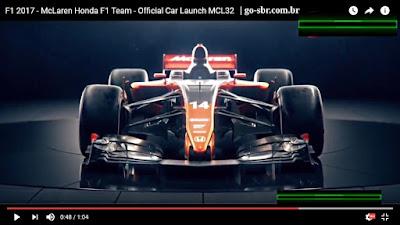 McLaren MCL32 para o Mundial de F1 2017