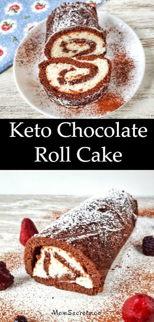 Keto Chocolate Roll Cake Recipes