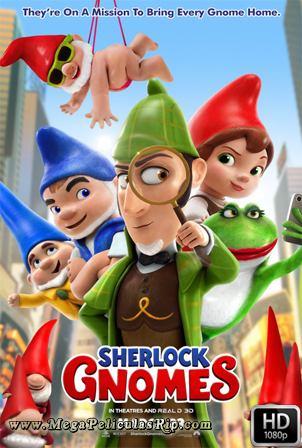 Sherlock Gnomes [1080p] [Latino-Ingles] [MEGA]