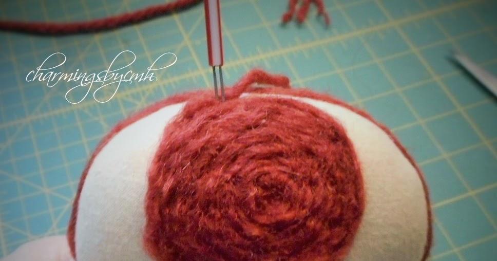 Charmingsbycmh Raggedy Ann Or Rag Doll Needle Felted And