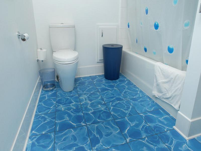 Blue Bathroom Floor Tile latest blue bathroom decor ideas tiles furniture accessories 2019 designs