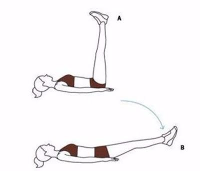 Động tác tập yoga giảm mỡ bụng 2