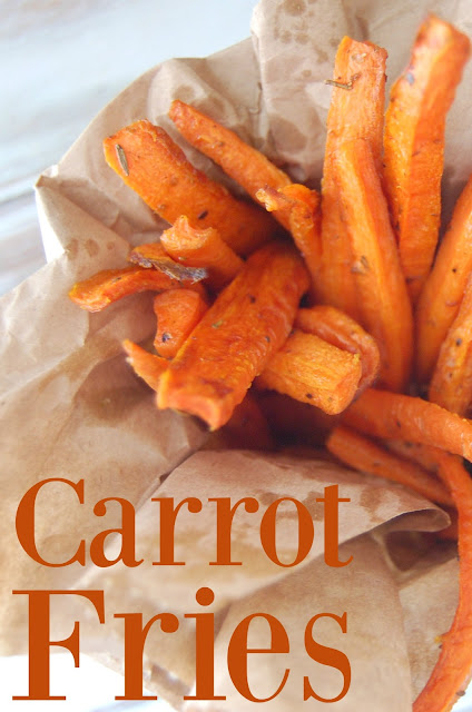 Make fries out of carrots! These taste amazing and even the pickiest of kids will love them!