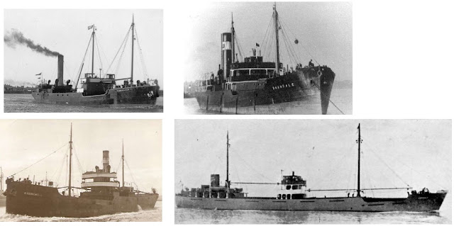 SS Yokefleet SS Swandale SS Easingwold MV Coxwold