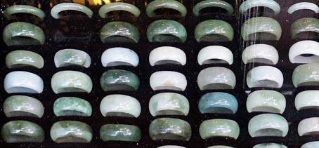 pretty jade rings