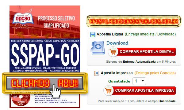 Apostila SSPAP GO 2017 PDF Download