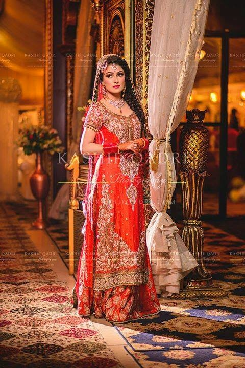 Curly Fries Bride Couture Ayeza Khan S And Danish