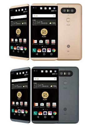 LG V34 Ponsel Tahan Air Terbaru 2016