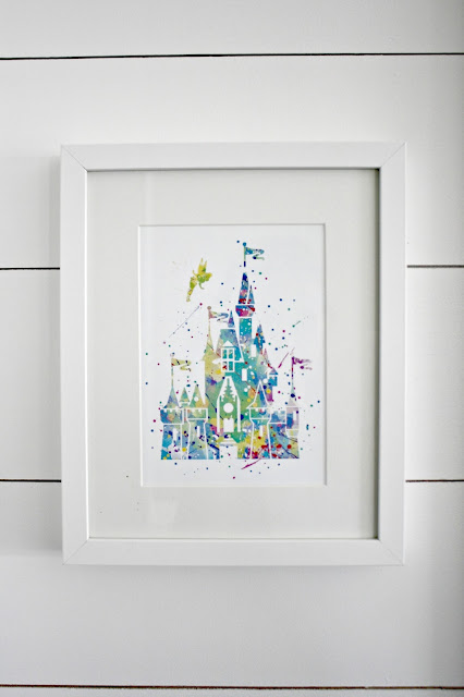 Disney castle printable