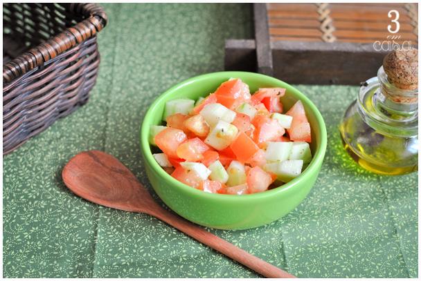 receita de salada de tomate e pepino