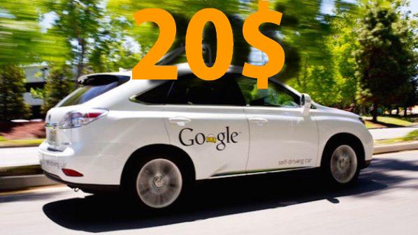 جوجل تبحث عن موظفين لقيادة سيارات ذاتية القيادة مقابل 20$ في الساعة