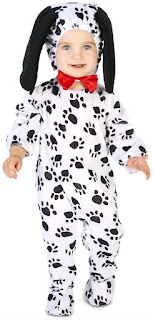 Dalmatian Toddler Costume on PartyBell.com