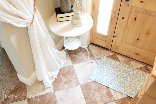 DIY织物地毯