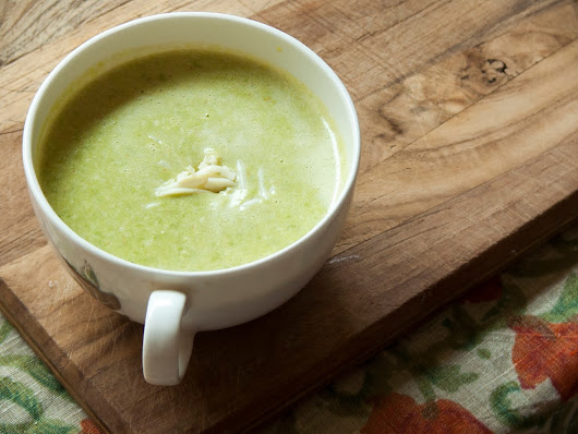 #15 Cheesy Pea Soup