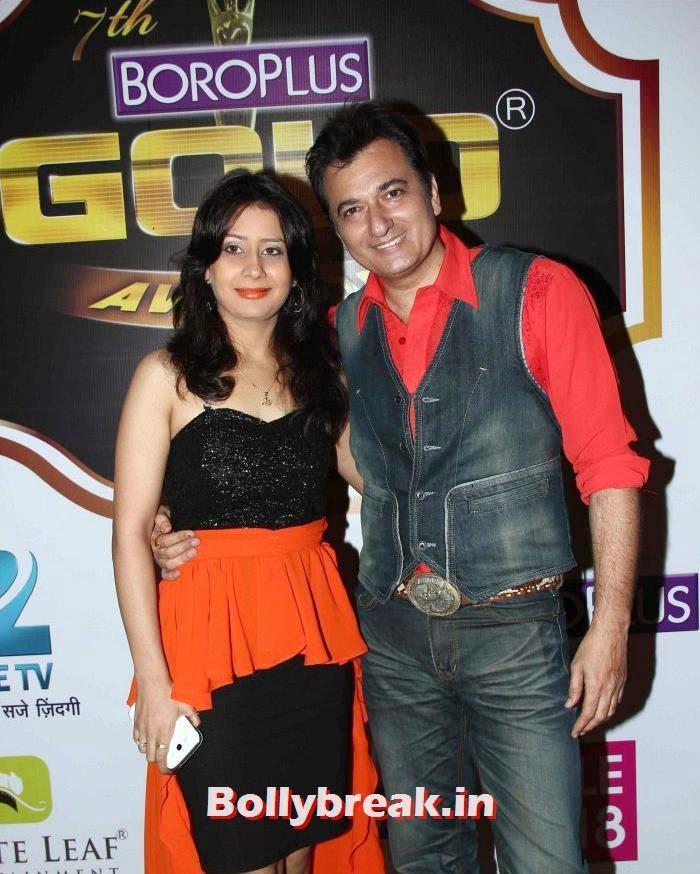 Natasha, Avinash Wadhawan, Popular Tv Actresses on The Red Carpet of 7th Boroplus Gold Awards