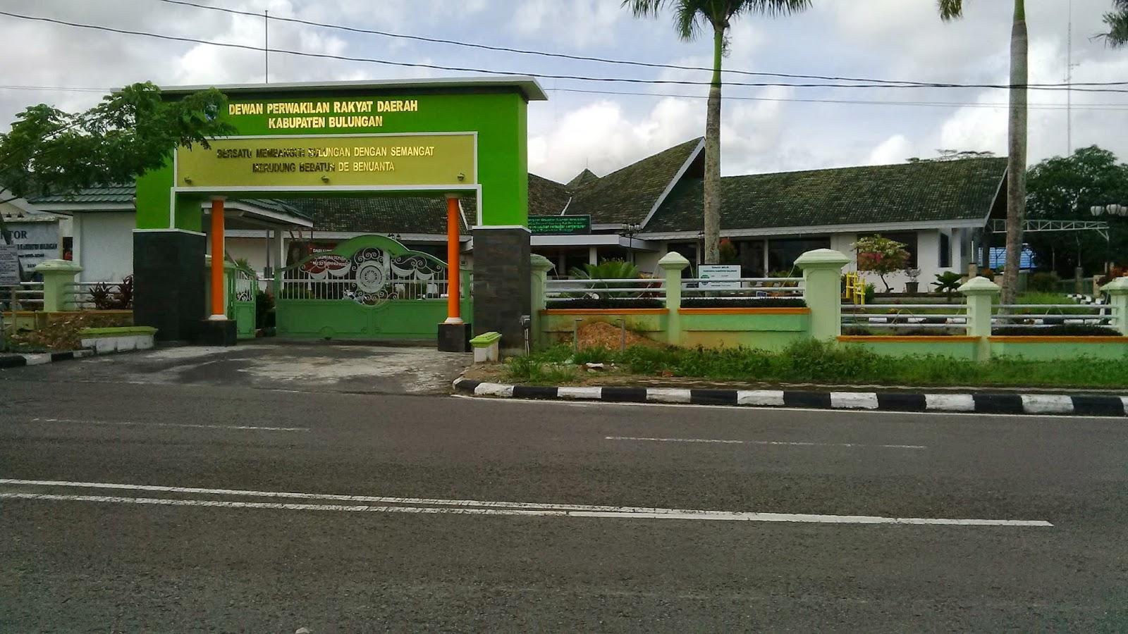 Kantor DPRD Kabupaten Bulungan Kalimantan Utara