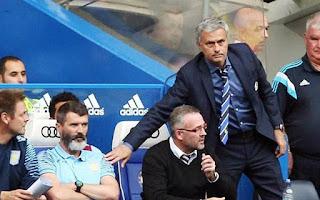Mourinho and Roy Keane