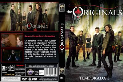 CARATULA THE ORIGINALS/LOS ORIGINALES- 2018 [COVER DVD] TEMPORADA 5