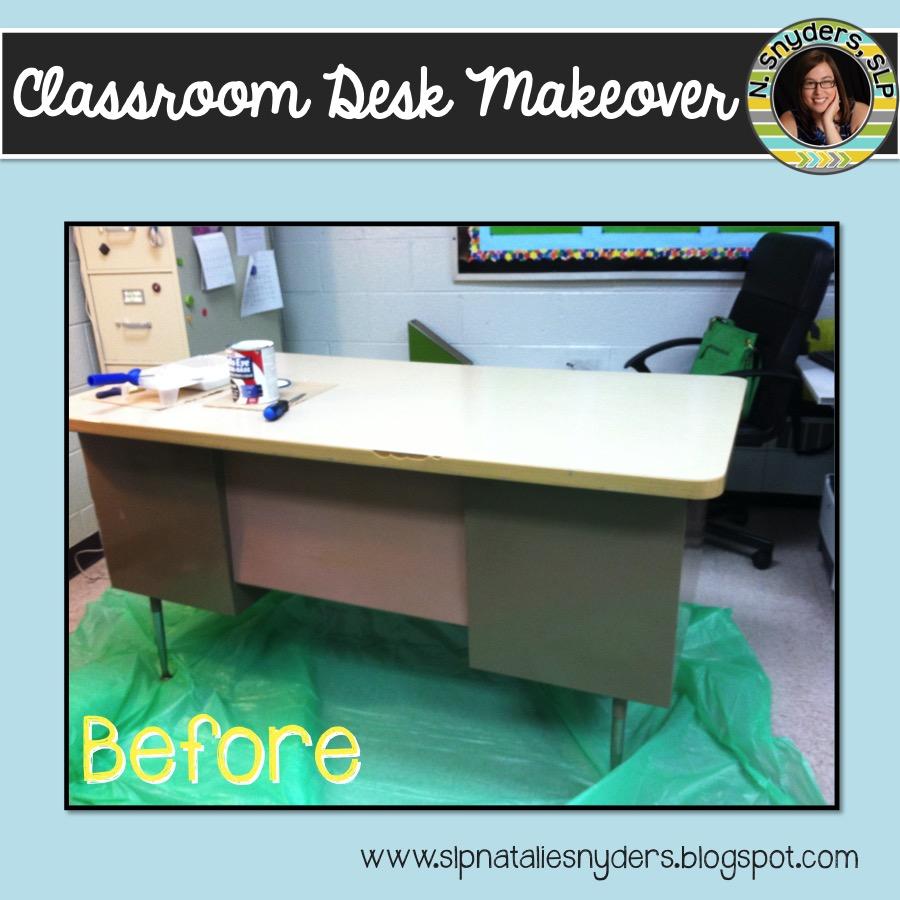 Astounding Classroom Desk Makeover Interior Design Ideas Inamawefileorg