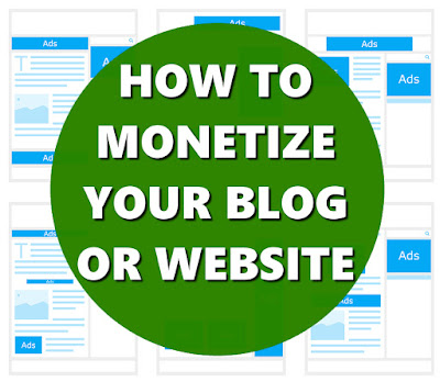 HOW TO MONETIZE YOUR BLOG OR WEBSITE MAKE MONEY ONLINE FOR FREE