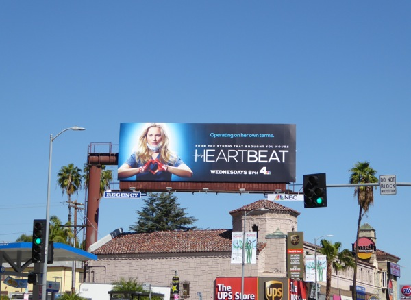 Heartbeat series launch billboard