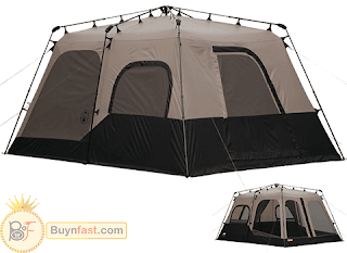 Amazing Coleman 8-Person Instant Tent