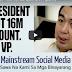 Breaking News: Confirmed!! President Rodrigo Roa Duterte 21M Not 16M Votes