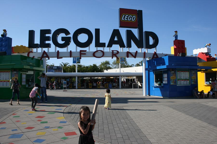 IncrediblyX in Los Angeles: Legoland and Oceanside Beach