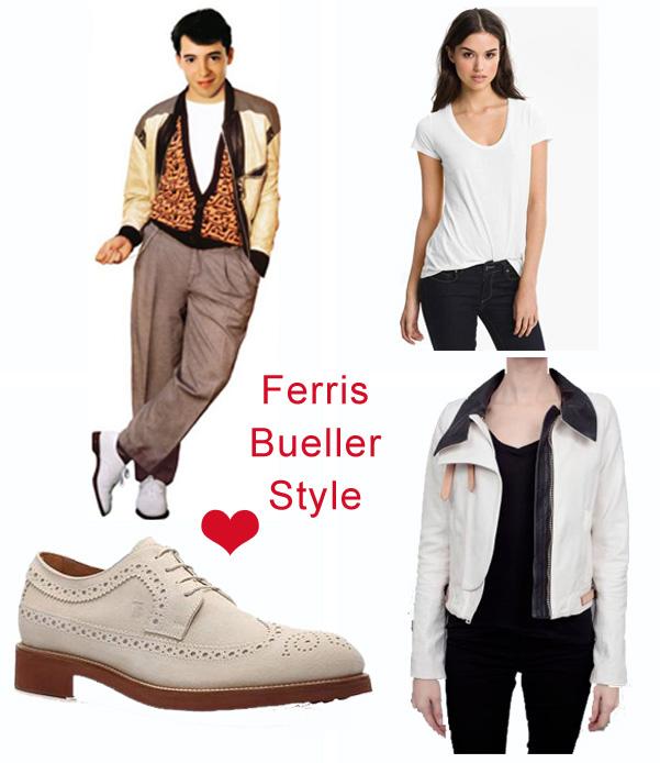 Ferris Bueller White Shoes
