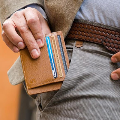 Superior RFID-Blocking V-Shaped Wallet