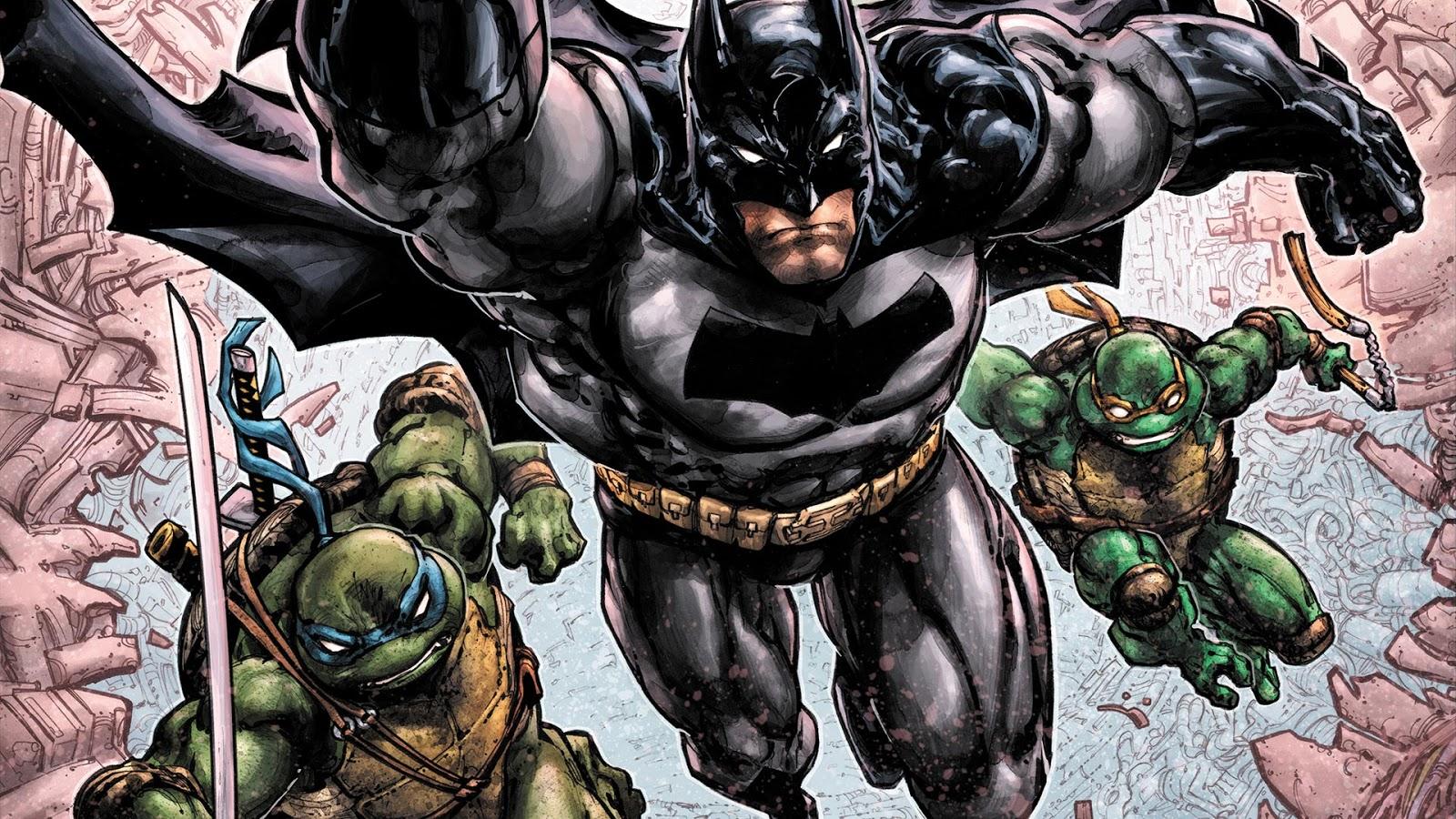 Nickalive Dc Idw And Nickelodeon Announce Batman Teenage Mutant Ninja Turtles Iii Comic Series Updated W Art