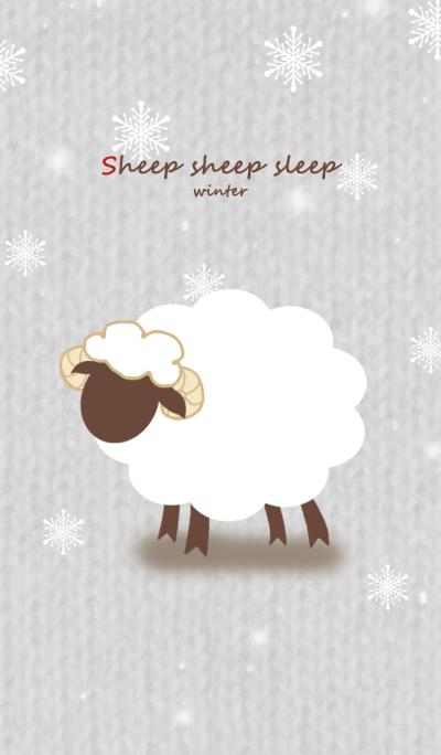 sheep sheep sleep (Winter Version)