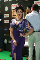 Iniya in a deep neck gown super cute beauty at IIFA Utsavam Awards press meet 27th March 2017 008.JPG