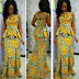 Special Ankara Long gown Style For events and Weddings