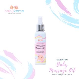 Baby Keme Calming Massage Oil
